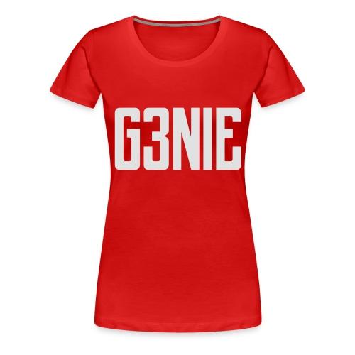 G3NIE case - Vrouwen Premium T-shirt