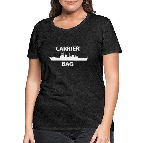 carrier bag white - Women's Premium T-Shirt