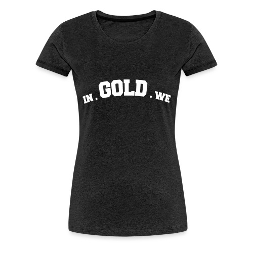 gowtu blk png - Vrouwen Premium T-shirt