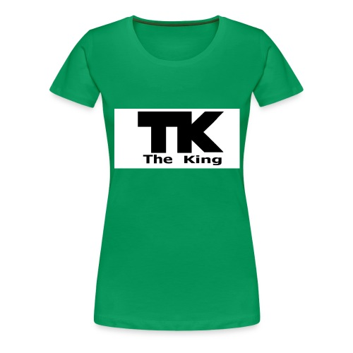 The King med ram - Premium-T-shirt dam
