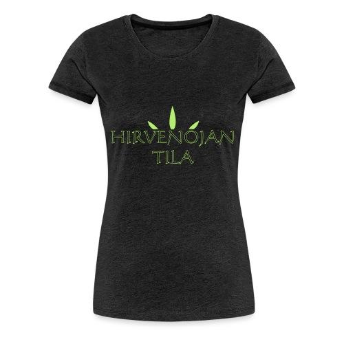 Hirvenojantila - Naisten premium t-paita