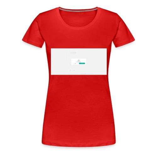 dialog - Women's Premium T-Shirt