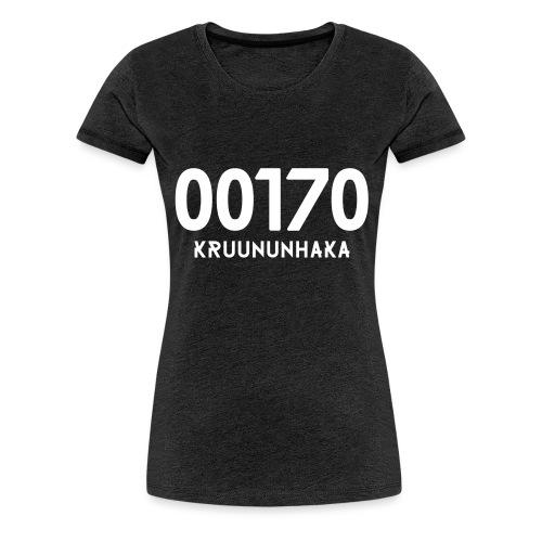 00170 KRUUNUNHAKA - Naisten premium t-paita