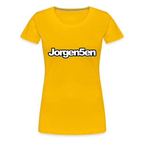 tshirt - Dame premium T-shirt