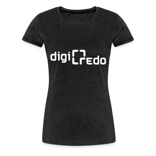 digiredo2 w - Vrouwen Premium T-shirt