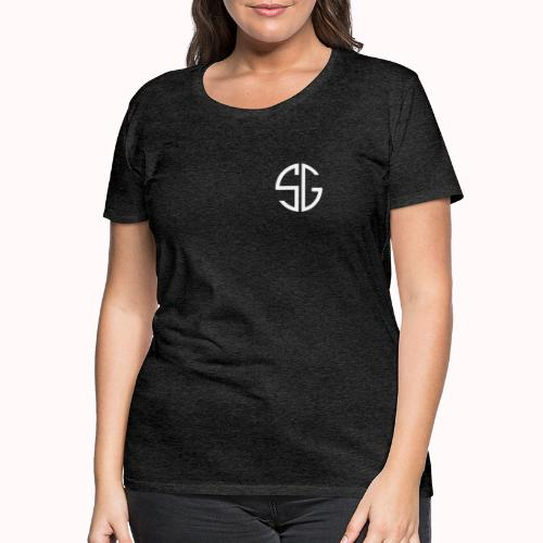 SemGamer log in wit - Vrouwen Premium T-shirt