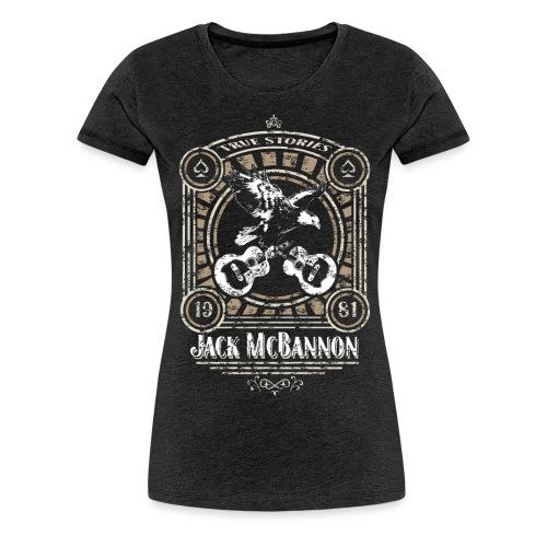 Jack McBannon - Vintage Eagle - Frauen Premium T-Shirt