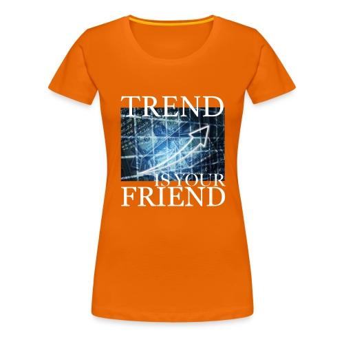 Designed T-Shirt for Traders Stock Market Forex - Maglietta Premium da donna