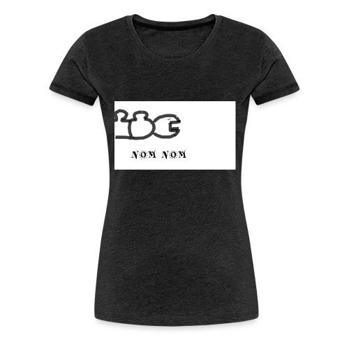 NOM NOM - Frauen Premium T-Shirt