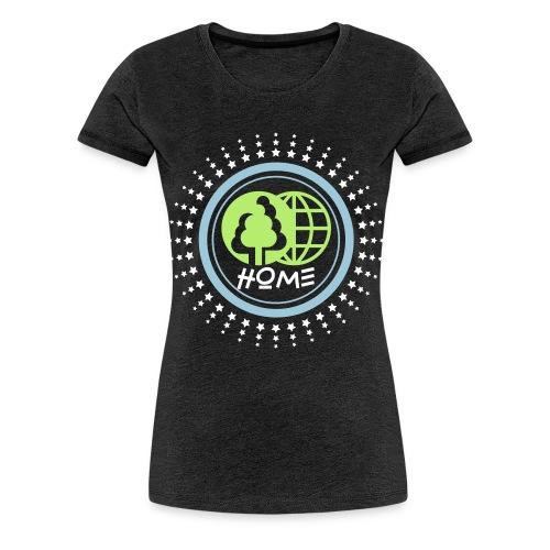 Planète home sweet home - T-shirt Premium Femme