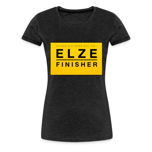 Schild Shirt2 jpg - Frauen Premium T-Shirt
