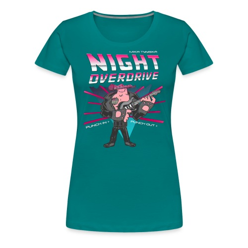 Tyyskä Night Overdrive - Women's Premium T-Shirt