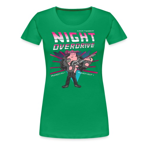 Tyyskä Night Overdrive - Women's Premium T-Shirt