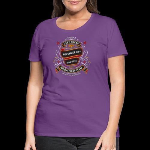 25th Anniversary II - Vrouwen Premium T-shirt