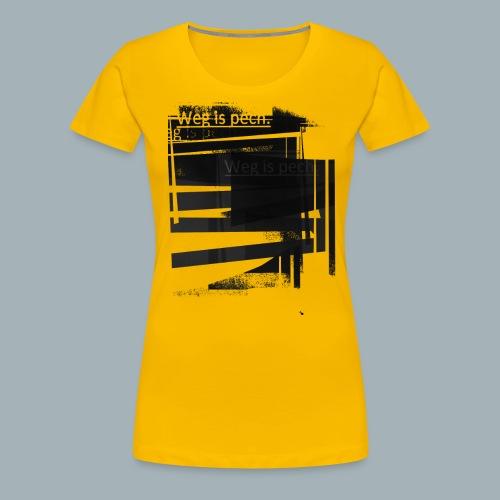 2018_WIP - Vrouwen Premium T-shirt