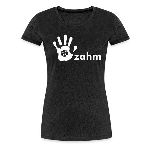 ak_shirts_handzahm - Frauen Premium T-Shirt