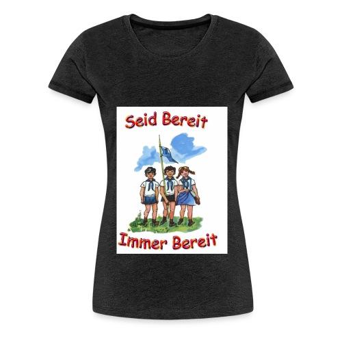 pioniere voran - Frauen Premium T-Shirt