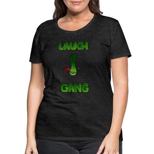 Lauch Gang Logo - Frauen Premium T-Shirt