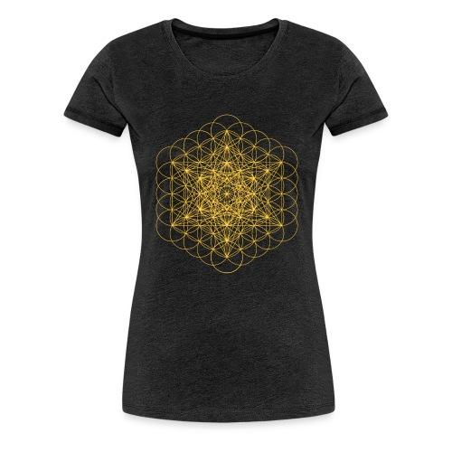 metatrons cube - Women's Premium T-Shirt