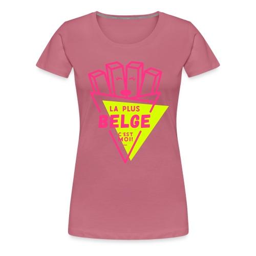 La+Belge - T-shirt Premium Femme