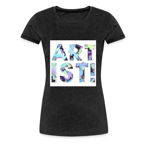 ARTIST - Women's Premium T-Shirt