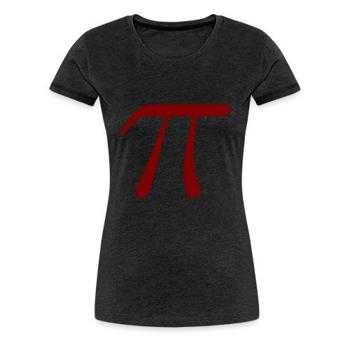 pi red t-shirt - Women's Premium T-Shirt