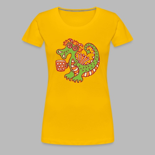 BEER QUAFFER - Women's Premium T-Shirt