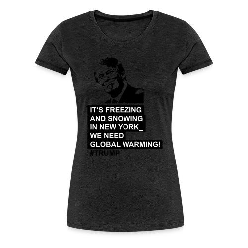Trump-04-03 - Frauen Premium T-Shirt
