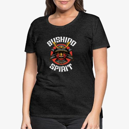 Bushido Spirit - T-shirt Premium Femme