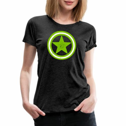 Vegan Vegetarier Lifestyle Shirt T-Shirt Geschenk - Frauen Premium T-Shirt
