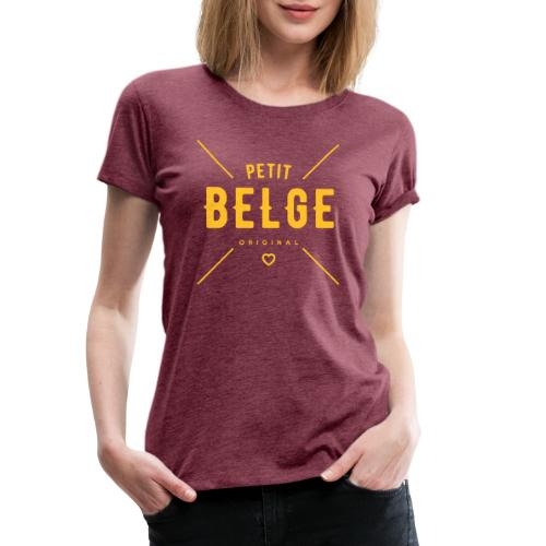 petit belge original - T-shirt Premium Femme