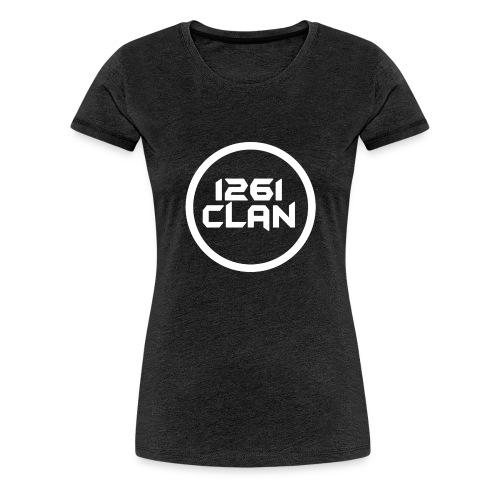 1261Clan White ring transparent - Women's Premium T-Shirt