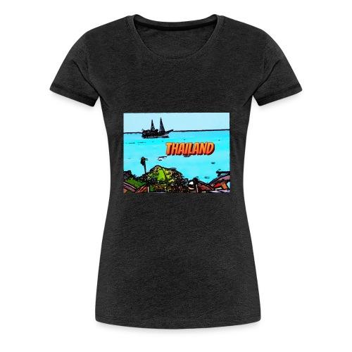 Thailand Pirat - Frauen Premium T-Shirt