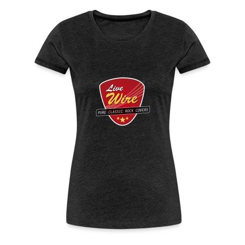 LiveWire_Logo - Frauen Premium T-Shirt
