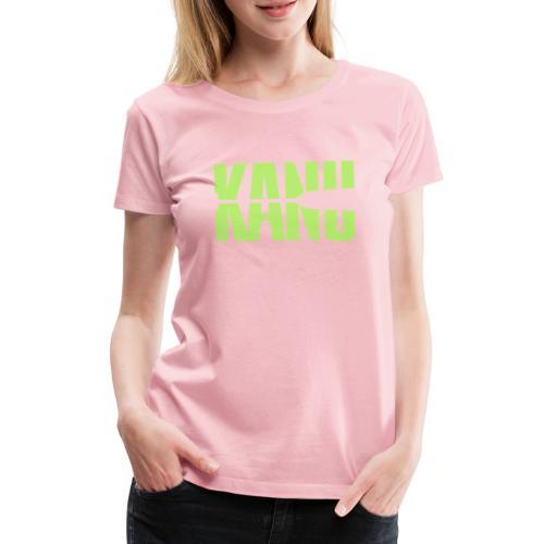 Kanu Kanute Wassersport Paddel 1c - Frauen Premium T-Shirt
