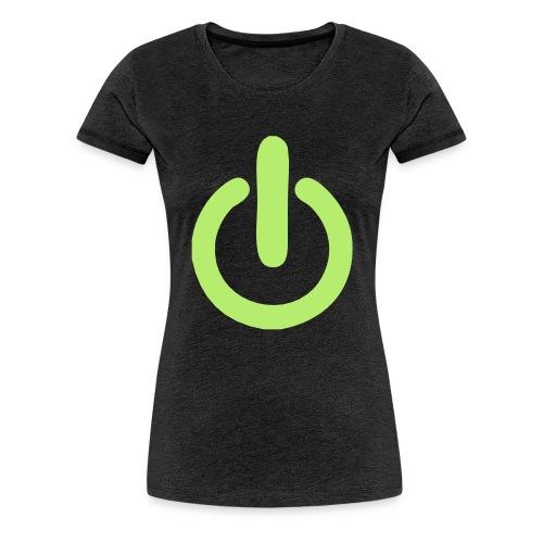 beheerd uitknop - Vrouwen Premium T-shirt