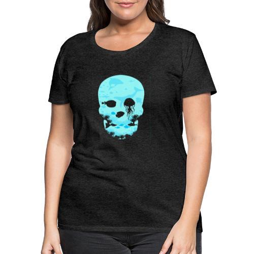 Dead Sea Tshirt ✅ - Frauen Premium T-Shirt
