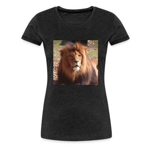 Lejon - Premium-T-shirt dam