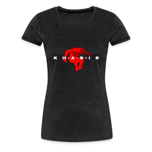 khabib nurmagomedov - Premium-T-shirt dam