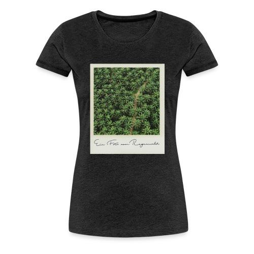 Foto vom Regenwald - Frauen Premium T-Shirt