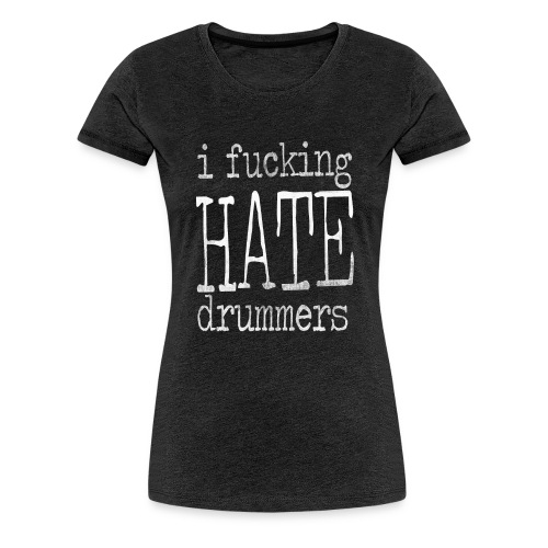 type scratches white - Women's Premium T-Shirt