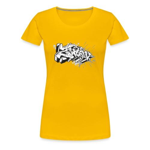 graffiti 2Wear dae120 2tone - Dame premium T-shirt