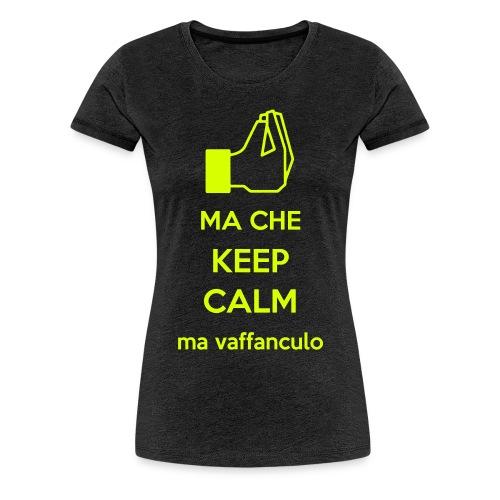 keep vaffa - Maglietta Premium da donna