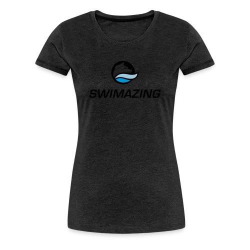 RZ Logo Swimazing 1 - Frauen Premium T-Shirt