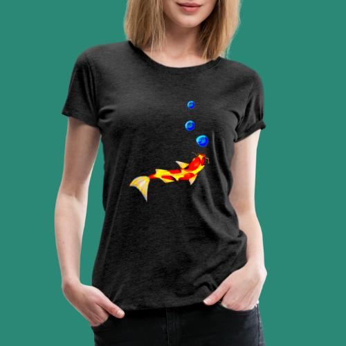 der Fisch - Frauen Premium T-Shirt