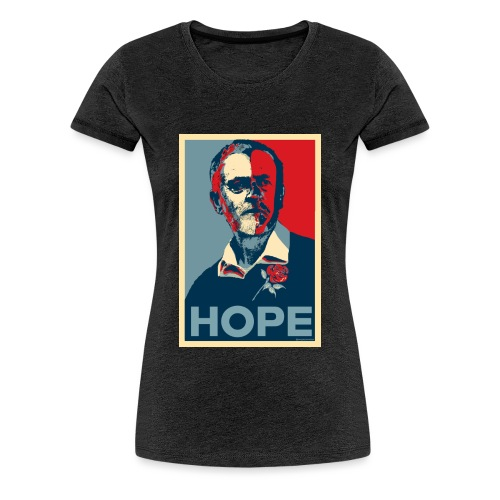 Corbyn Hope - Women's Premium T-Shirt