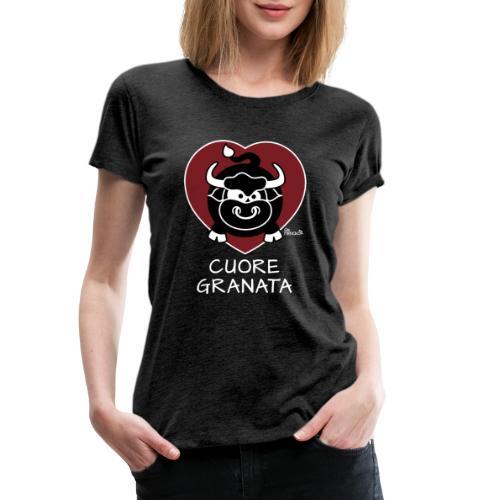 Torino Cuore Granata, Football Club, Calcio Italia - T-shirt Premium Femme