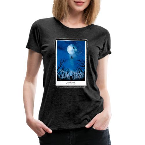 night frame 01 - Frauen Premium T-Shirt