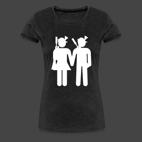 nxrt gen hntr wht - Frauen Premium T-Shirt