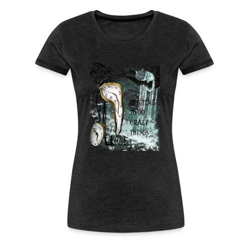 Alice the time.. - Camiseta premium mujer